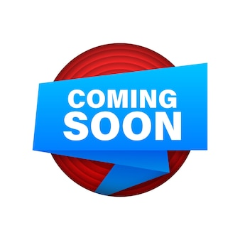 Coming soon. promotion banner coming soon. vector illustration.