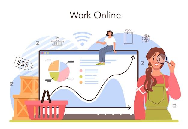 Commercial activities online service or platform entrepreneur tracking