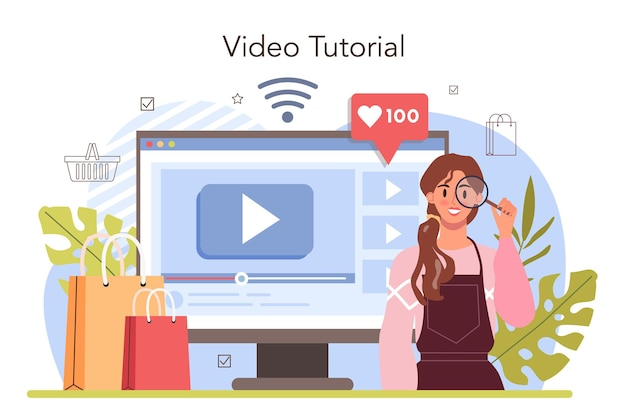 Commercial activities process online service or platform