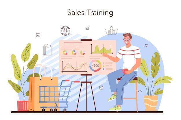 Commercial activity. sales stimulation for comercial profit. training