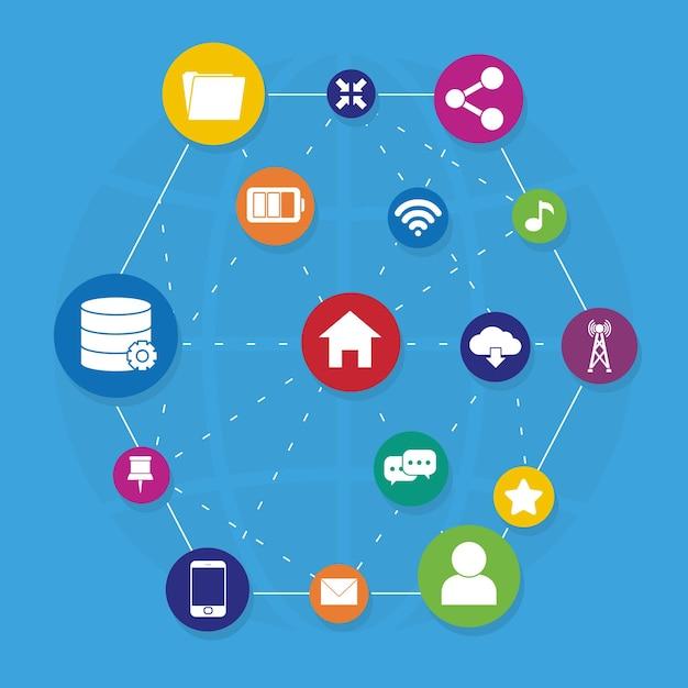 Связь и дизайн сети