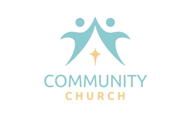 Community church logo design inspiration