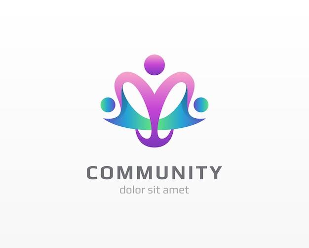 コミュニティの人々のロゴ