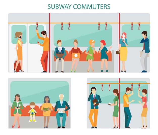 Commuters subway design