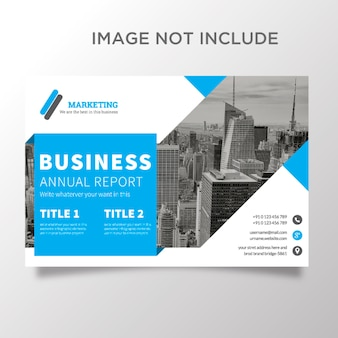 Company annual report template