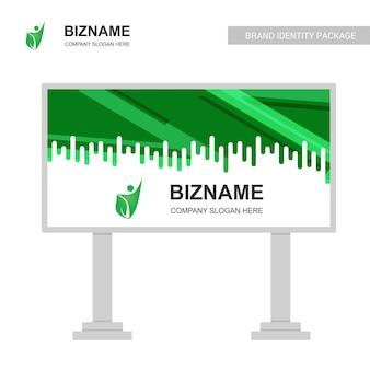 Company bill board design