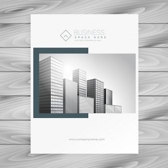 Company brochure in an elegant style