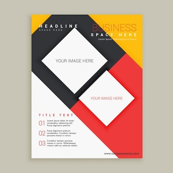 Azienda modello di brochure design