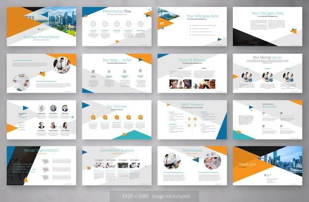 Бизнес-презентация компании
