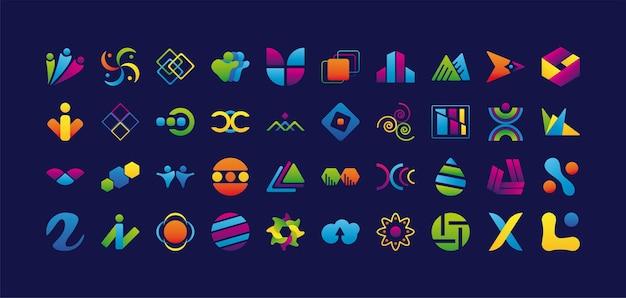 Company icons set