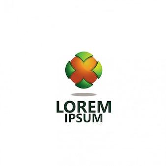 Компания логотип 3d