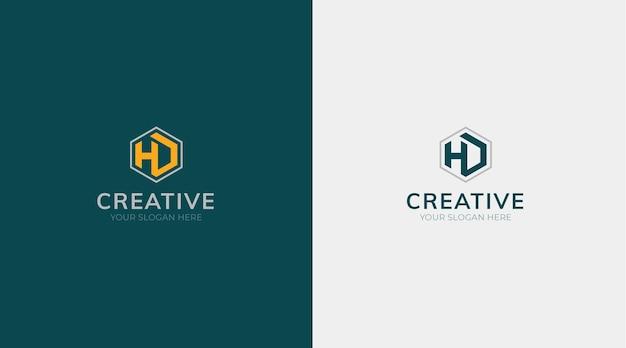 会社のロゴデザインのアイデアベクトル無料ベクトル