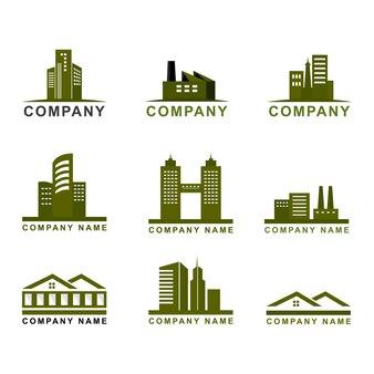 会社のロゴ、不動産