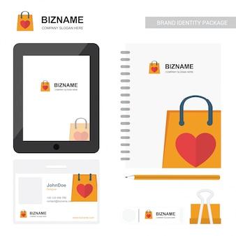 Company logo stationary branding