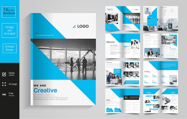 Company multiperpose brochure