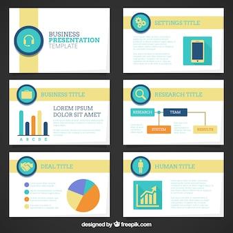 グラフィック会社のプレゼンテーションテンプレート