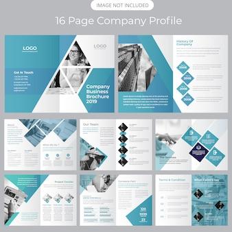 팜플릿 템플릿-회사 프로필