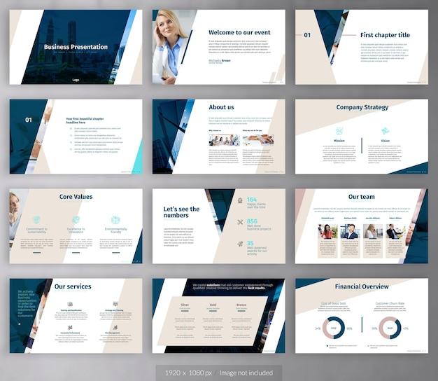Бизнес-презентация профиля компании