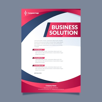 Company strategy modern presentation template