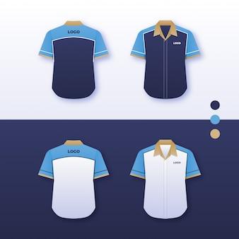 Company uniform shirt design