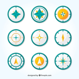 Compass collection of nine