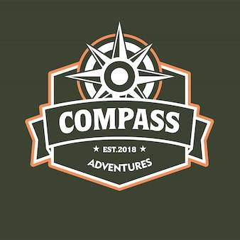 Compass emblem logo