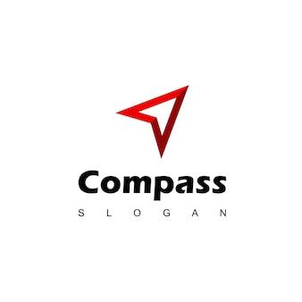 Compass logo design template