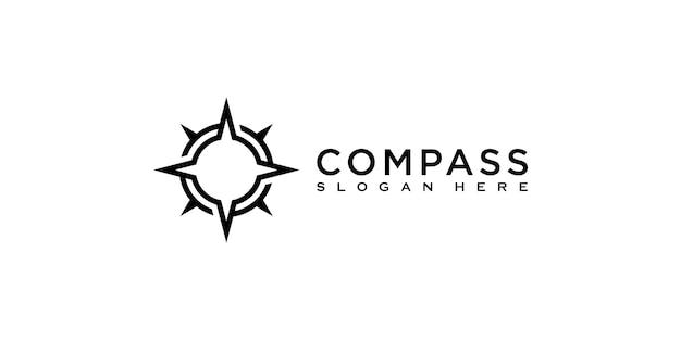 Compass logo template vector designs
