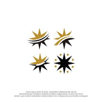 Compass logo vector design template