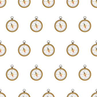 Compass seamless pattern  . navigation theme   illustration