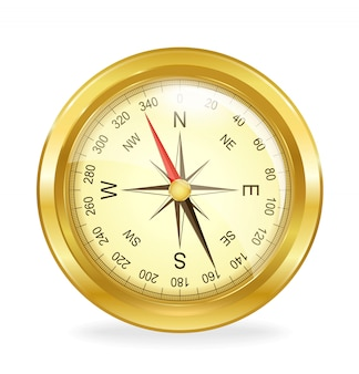 Compass. vector object