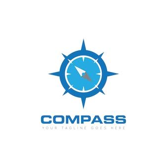 Дизайн логотипа compass