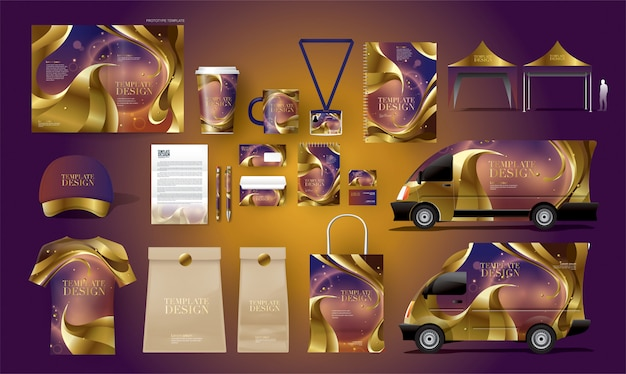 Complete corporate identity package