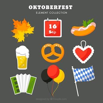 ドイツのパーティー要素の完全なセット