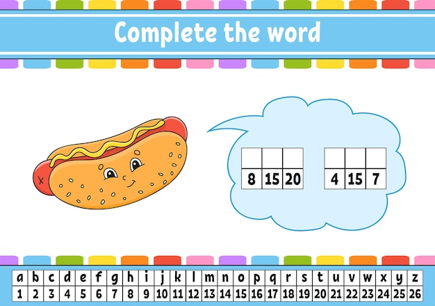 Complete the words.