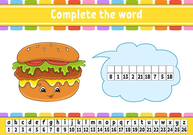 Complete the words