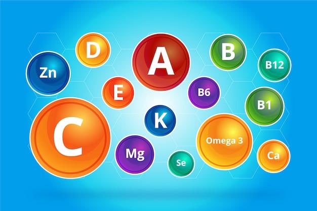 Complesso di vitamine e minerali essenziali