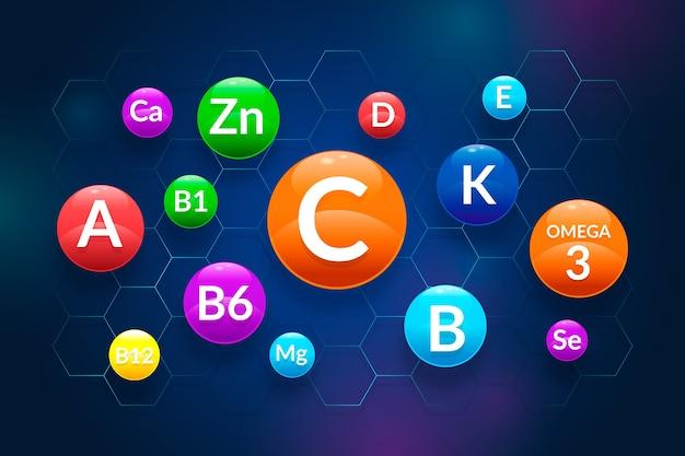 비타민과 미네랄의 복합물