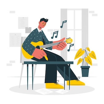Composer concept illustration