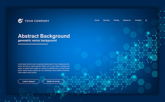 Compounds background for your website or landing page.