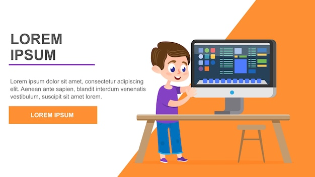 Computer education page
