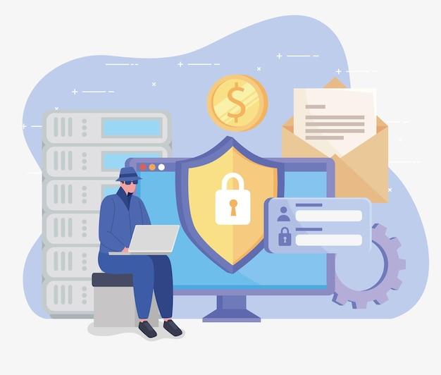 Computer and hacker design