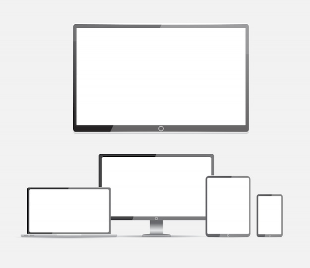 Computer. lcd monitor, laptop, tablet, mobile phone
