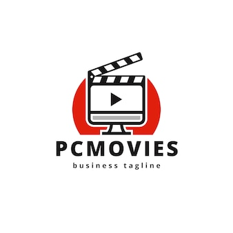 Computer movie logo design