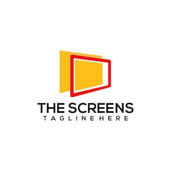 Computer screen logo