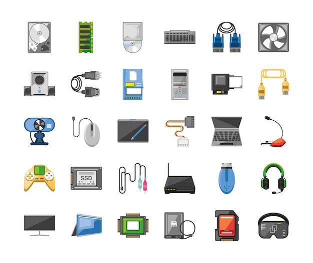 컴퓨터 소프트웨어 및 하드웨어
