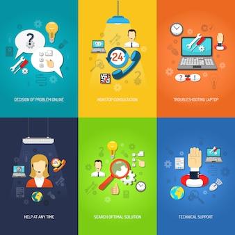 Компьютерная подставка для мини постера разноцветная