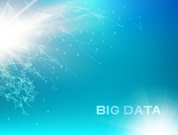 コンピューター技術とビッグデータ。