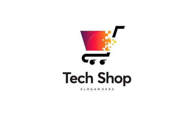 Шаблон логотипа компьютерных технологий дизайн шаблона логотипа компьютерной службы
