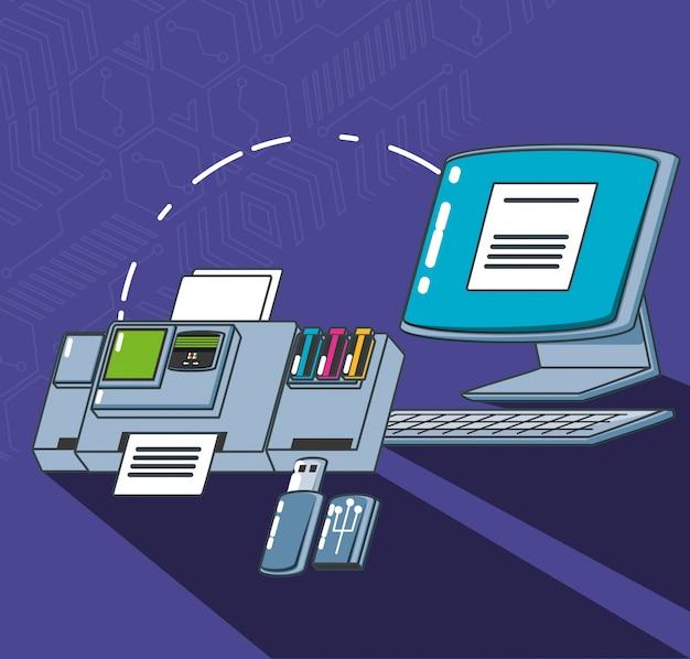 Computer technology set gadgets